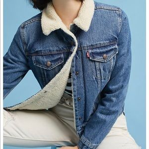 Levi's Sherpa trucker jacket